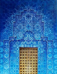 Moroccan blue by Zach Wong hell yeah this is gorgeous.♥ - Moroccan blue by Zach Wong hell yeah this is gorgeous…♥ - Moroccan Doors, Moroccan Home Decor, Moroccan Blue, Moroccan Tiles, Moroccan Art, Moroccan Wallpaper, Moroccan Bedroom, Moroccan Lanterns, Moroccan Interiors