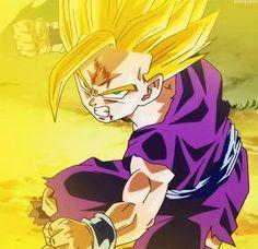 Gohan - Dragon Ball Z (Cell saga) via: http://yogaboi.tumblr.com/post/65310615811