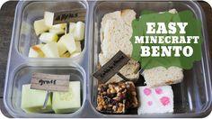 Easy Minecraft Bento  | Subscribe: http://youtube.com/PepperScraps