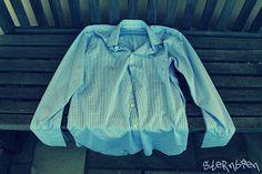 Wie aus einem Herrenhemd eine tolle Bluse entstehen kann...