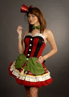 Casino Outfit Frauen