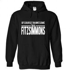 FITZSIMMONS-the-awesome - #grey shirt #hipster tee. CHECK PRICE => https://www.sunfrog.com/LifeStyle/FITZSIMMONS-the-awesome-Black-74696953-Hoodie.html?68278