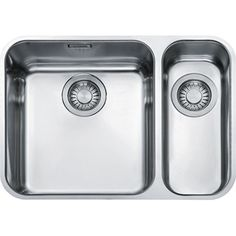 Franke Largo Stainless Steel x Left or Right Hand Small Bowl Bowl Undermount Kitchen Sink LAX 160