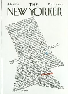 The New Yorker - Monday, July 5, 1976 - Issue # 2681 - Vol. 52 - N° 20 - Cover by : Jenni Oliver
