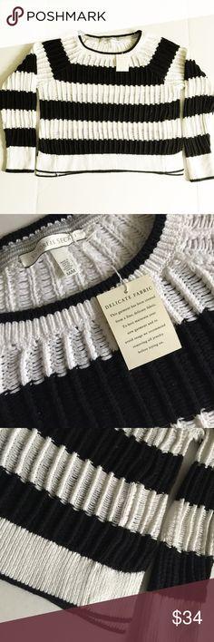 BRNW Victoria's Secret size M Oversized beautiful sweater size M / 100% cotton/Delicate fine fabric Victoria's Secret Sweaters