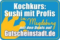 Mit Glück günstig 'nen #Kochkurs buchen in #Magdeburg mit #Gutscheinstadt