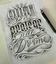 We share lettering Artist: 💥💣🔥✊ - - - - Tattoo Lettering Design, Graffiti Lettering Fonts, Chicano Lettering, Graffiti Tattoo, Tattoo Designs, Badass Tattoos, Body Art Tattoos, Sleeve Tattoos, Doodle Tattoo