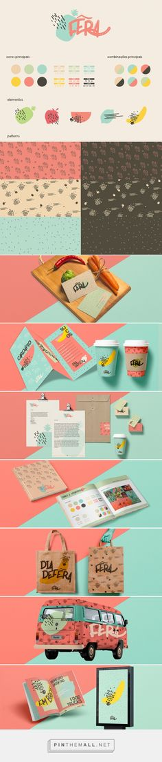Fêra Frutaria Fresh Fruit and Veggie Food Truck Branding by Thais Macedo   Fivestar Branding Agency – Design and Branding Agency & Curated Inspiration Gallery