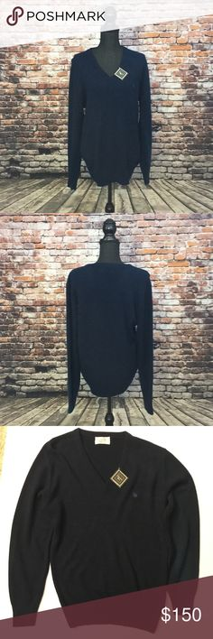 "Christian Dior Sweater Large Shoulder to shoulder 19"" Armpit to armpit 21"" Shoulder to hem 30"" Hem 14"" Sleeve 27"" Christian Dior Sweaters V-Neck"