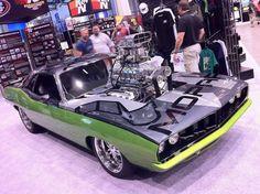 Blown Hemi- so clean it looks like a Hot Wheels car!!!