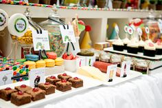 Very Hungry Caterpillar dessert table