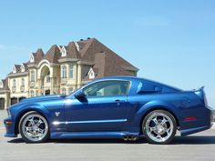 Muscle Cars… Ford Mustang GT 2007 Cervini C-500