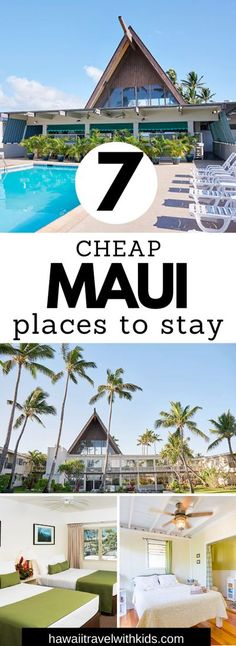 Planning a trip to Maui on a budget? Save money with these amazing and cheap places to stay on Maui. Find the best hotels, Airbnbs, and VRBO options on Maui for your next trip to Hawaii on a budget. Maui Travel, Travel Usa, Travel Tips, Budget Travel, Travel Ideas, Travel Inspiration, Hawaii Hotels, Hawaii Vacation, Travel With Kids