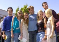 Scott Weinger, Jodie Sweetin, Mary-Kate Olsen, Dave Coulier, Candace Cameron Bure, Bob Saget and Ashley Olsen at an event ~ 2004 ~ Full House Cast