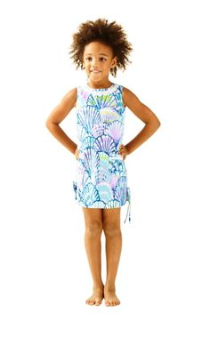 The Little Lilly Classic Shift Dress is the ultimate party dress for girls. From a birthday party to a nice dinner with family, your little will love the lace detail and bows on her new dress. She'll never forget her first Lilly...and it certainly won't be her last.                                                      Please Note: This item is more vibrant in person. Our cameras just can't handle all this color!