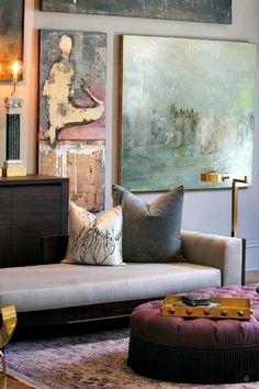 wunderschönes design von wohnzimmer - kreative und moderne wandgestaltung