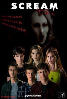 Scream new mtv series :) - Best Tv Show Mtv Scream, Scream Show, Scream Series, Scream Movie, Cyber Bullying, Tv Series To Watch, Watch Tv Shows, Newest Tv Shows, Favorite Tv Shows