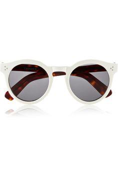 ILLESTEVA Leonard 2 round-frame acetate sunglasses $260