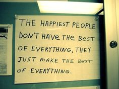 ...Make the Best of Everything
