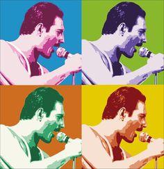 Freddie Mercury | #photography #art #music