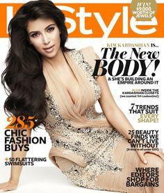 Kim Kardashian-  InStyle Magazine Australian