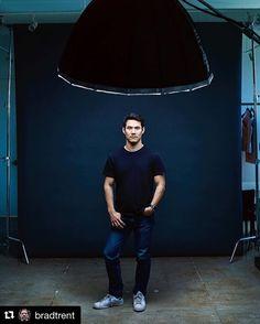 Behind the scenes by @bradtrent | One Big Light. Joseph Altuzarra for the @WSJ. #BTS @famousbtsmagazine @josephaltuzarra @profotousa