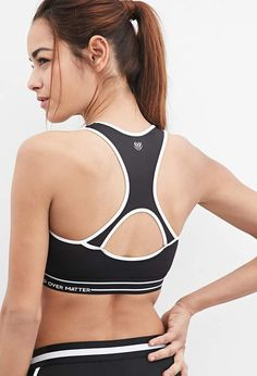 2f90d3bd65ace Forever 21 High Impact - Mind Over Matter Sports Bra  yoga  yogagirl   workout