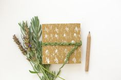 Eco Friendly Mini Nature Journal, Sketchbook or Travel Diary on Etsy, $25.00