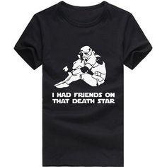Star Wars Friends on the Death Star Funny T-Shirt
