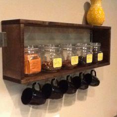 Tea Shelf - Tea is coffee's partner in crime.