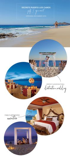 Secrets Puerto Los Cabos Golf & Spa Resort + A Giveaway!  Read more - http://www.stylemepretty.com/2013/10/15/secrets-puerto-los-cabos-golf-spa-resort-a-giveaway/