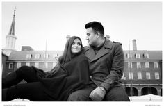 PSK captured a couple portrait session for Mauricio and Priya on Valentine's Day, 2016.