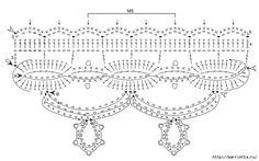 Gancho arnês elegante.  Toalha de mesa e guardanapos (2) (700x437, 163KB)