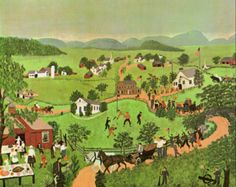 July Fourth by Grandma Moses | my daily art display