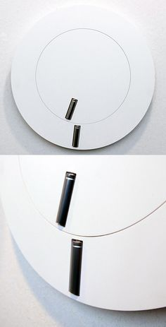 A wall clock. Pointers are the batteries. #wishlist