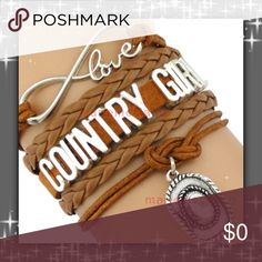 STOCKING STUFFERS  Super cute!!! Country Girl Bracelets  Great Quality!! Great Christmas Gift  Jewelry Bracelets