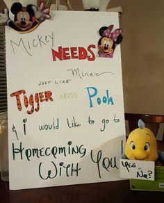 Disney Homecoming Ask