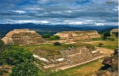 Monte Alban ruins in Mexico
