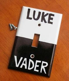 Star wars light switch! Any Star Wars fans out there??