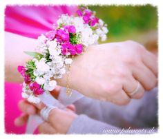 Florales Armband für Trauzeuginnen