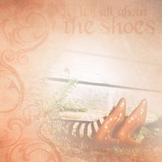 Paper House Productions - Wizard of Oz Collection - 12 x 12 Paper - Its All About the Shoes at Scrapbook.com $0.69