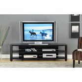 Found it at Wayfair - Glass TV Stand