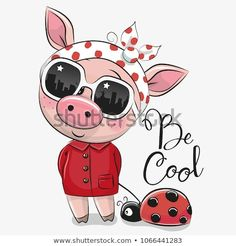 Cute Pig With Sun Glasses Vector Image On Pig Cute Pigs - Cute Pig With Sun Glasses Vector Image On Vectorstock Find Cool Cartoon Cute Pig With Sun Glasses Stock Vectors And Royalty Free Photos In Hd Cute Baby Pigs Cute Cartoon Girl Pig Illustration Chris Illustration Mignonne, Pig Illustration, Cartoon Cartoon, Cute Images, Cute Pictures, Images Photos, Free Photos, Cartoon Mignon, Art Mignon