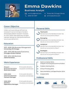 Resume Template Cv Template 05 By Gresume On Creativemarket