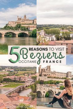 5 Incredible Reasons to Visit Beziers, One of France's Oldest Cities Cool Places To Visit, Places To Travel, Travel Destinations, Europe Travel Guide, France Travel, Beziers France, Perpignan France, Corsica, Aquitaine
