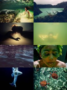 [Nymphs of the Zodiac] Cancer - Limnades, nymphs of lakes; these quiet nymphs drift through the murky water of lakes, playing with the fish and basking with alligators and turtles, and seducing anyone...