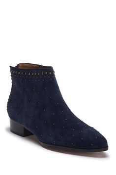 60 Frederika Studded Suede Ankle Boot by Bettye Muller 8.5 on   nordstrom rack Suede Ankle Boots 5ed831e71