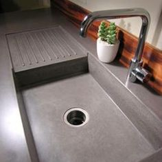 Concrete sink and benchtop for the kitchen and laundry?
