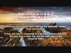 Very Good Tips For Memorizing Qur'an