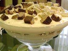 recipes brazilian dessert   Brazilian dessert made of Bis, a kit kat type candy, recipe calls for ...